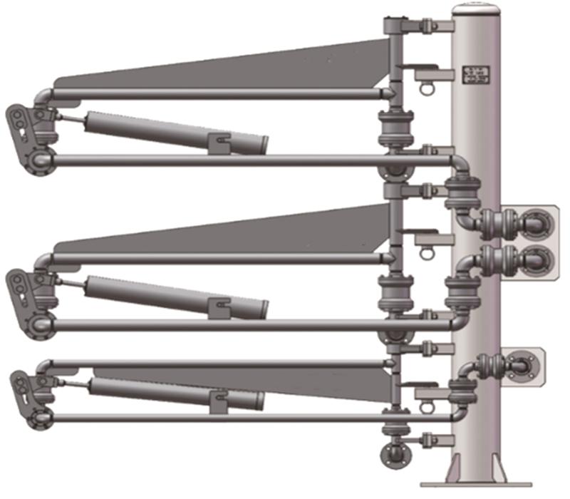 液化天然气(LNG)卸车增压臂